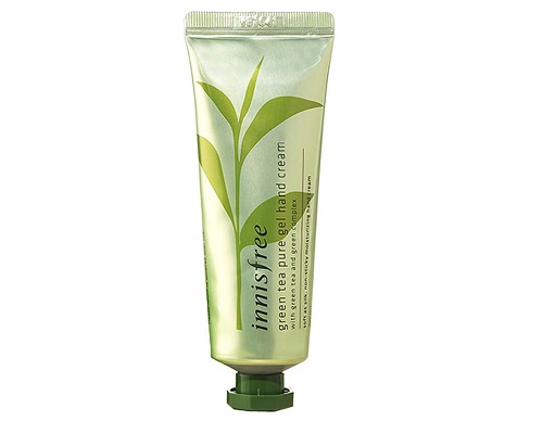 kem-duong-da-tay-Innisfree-Green-Tea-Pure-Gel-Hand-Cream