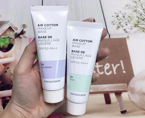 Kem-lot-The-Face-Shop-Air-Cotton-Makeup-Base